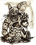 FNAF3 - The Birth of Springtrap (SPOILER WARNING) by rchlisawesome