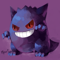 gengar by Effier-sxy