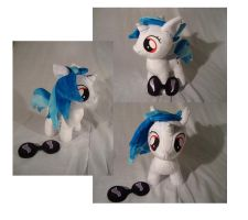 Vinyl Scratch DJPon3 filly - other pics by PlanetPlush