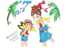 Pokemon Ranger: GS Released by Rugi-chan