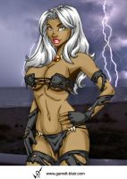 Savage Land Storm by Mythical-Mommy