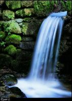 Small Waterfall by Yair-Leibovich