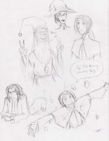 HP doodles 2 by DrLyzerg