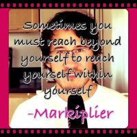 Reach Beyond Yourself. by MalGirl101