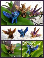 Little FairyCritters by TrollGirl