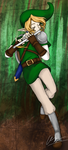 -Fluteplayer Link- by Astralstonekeeper
