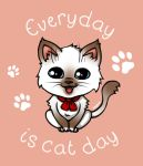 Everyday is cat day (1st version) by Natoucha
