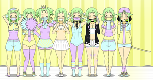Saya's Outfits by sexehpimp