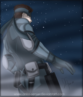 MGS_Solid Snake by Anko-sensei