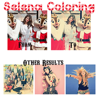 Selena G Coloring by supersarah089