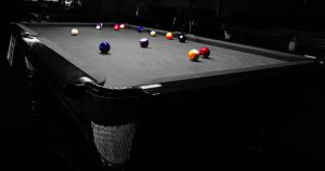 The Game at Miss Q's by AbbottPhotoArt