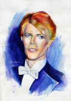 David Bowie by Shishkina