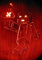 Creeper's Lab - Windrider739 Pumpkin 2013 by mediaklepto