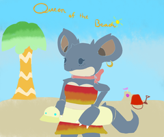 Queen of the Beach by AmberLepu