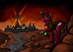 [commission] Fallout Equestria: New Pegas by reaperfox