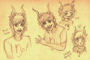 doodly gamzee thing by FrogMouthKid