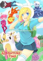 ADVENTURE TIME! by Elfany-Chan
