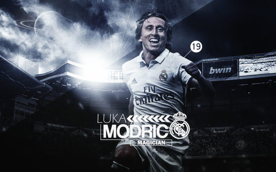 Luka Modric 2016/17 Wallpaper by ChrisRamos4