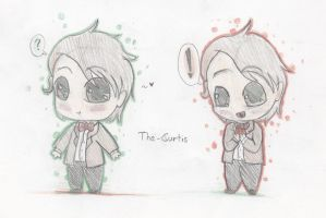 Chibi 11th Doctor by The-Curtis