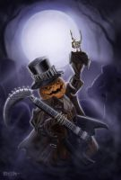 Jack O Lantern by pinkhavok