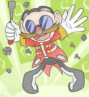 Chibi Eggman by CountAile
