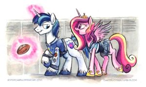 Canterlot High - The Popular Kids by sophiecabra