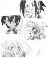 Shaman King Characters by Shaman-Club