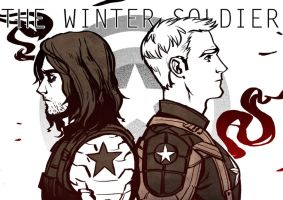The Winter Soldier by l3onnie