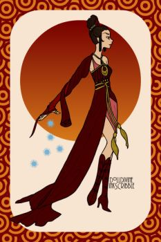 Princess Azula (Erte Elegance maker) by wtfatname