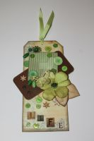Scrapbooking Tag Card by KittenontheKeys