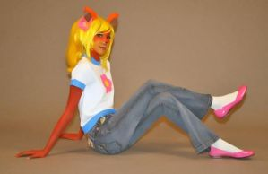 Coco Bandicoot by LittleMissMint