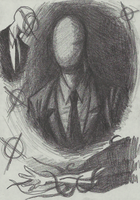Slenderman sketches by Cageyshick05