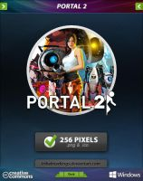 Portal 2 Icon by tRiBaLmArKiNgS