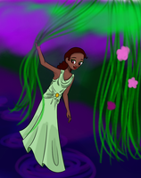 Request - Tiana by peachmix