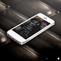 iPhone 5 Music Player by mitomanlien2412