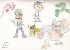 Project: M - Party of 6 by Nintendo-Fighter