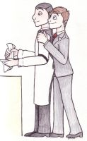 Helping Jeeves by chikajin