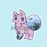 Cheap Fishbowl Animal Auction Adopt CLOSED by pinalapple