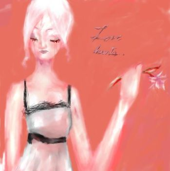 Pink for misery by xxraven666xx