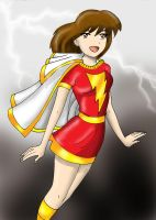 Shazam- Mary Marvel by Koku-chan
