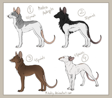 Madra Adoptables XIX SOLD by Mikaley