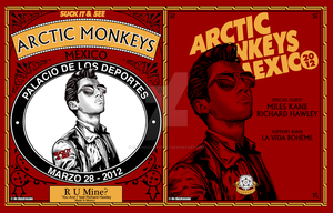 Arctic Monkeys Black Treacle Mexico by Fluorescentteddy