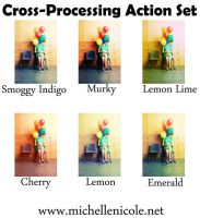 Cross processing set for ps by chupla