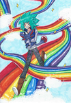 Johan-kun, Those Rainbows Are Off-Limits! by Emperor-Lee