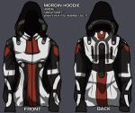 mordin hoodie - give me your input! by lupodirosso