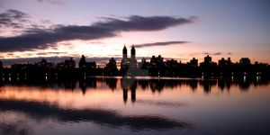 Central Park Reflection Blur by ORIVAA-GMB19