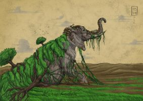 Gods of Nature - Mother Earth by LupaSola