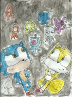 sonic colours by martyart21