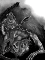 death dealer wip by Redtempledown