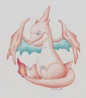 Baby Mega Charizard Y by icekitty101